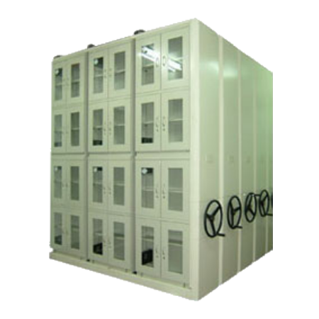 S-006 Customized Dry Cabinet with movable shelving Racks