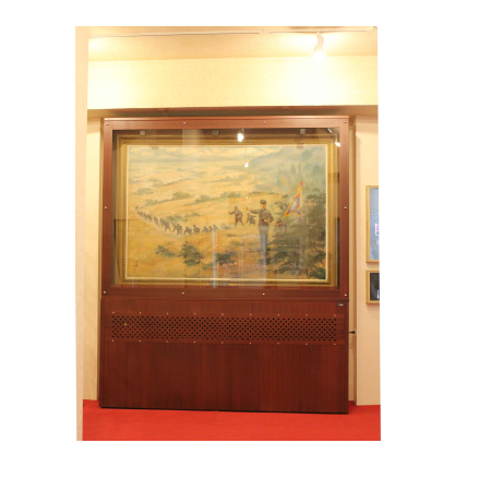 S-019 Customized Dry Cabinet for paintings