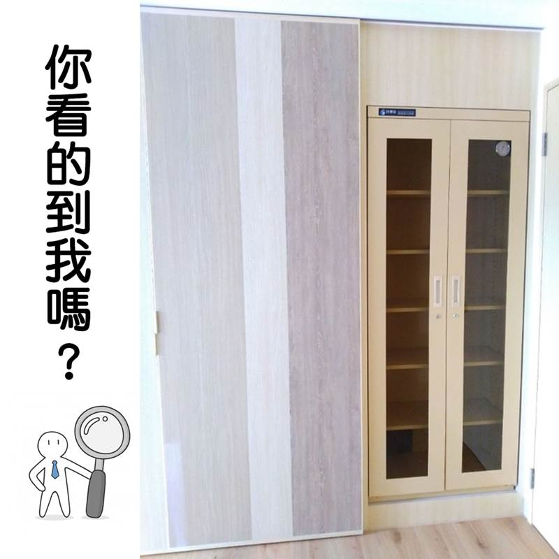 S-047 Customized Dry Cabinet for spacial color